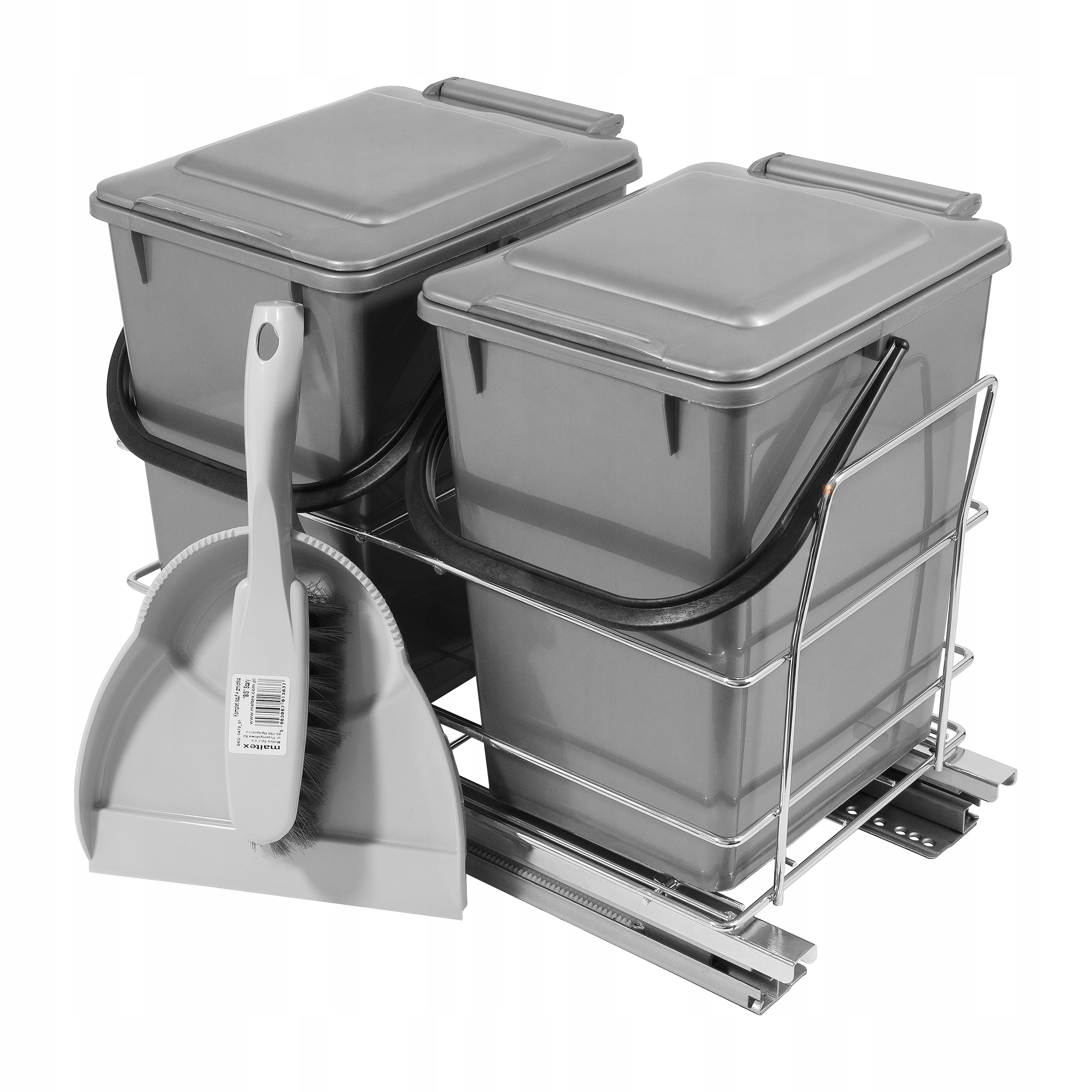 Košík Výsuvné vysávač na odpadky - TICHÝ DOM