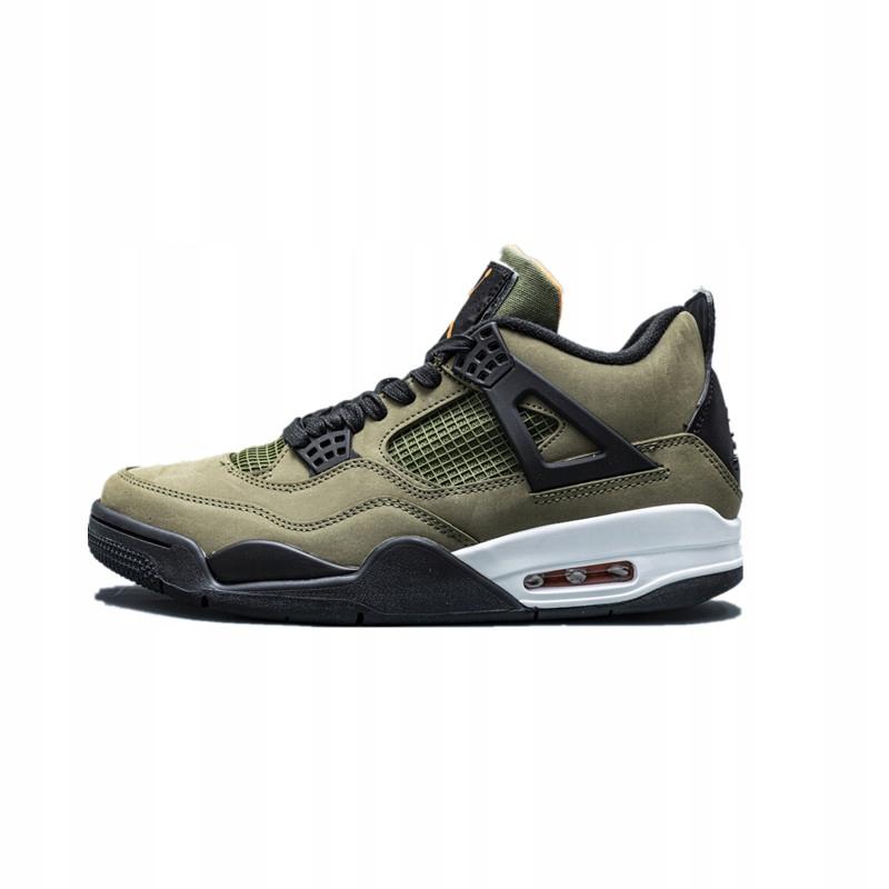 Tenisky Nike Air Jordan 4 Retro Army Green JMB351