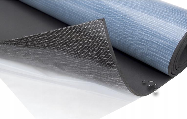 коврик wygłuszająca пена каучуковая z клеем 6mm