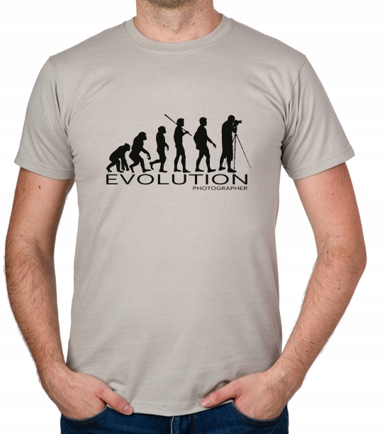 koszulka Photographer Evolution prezent