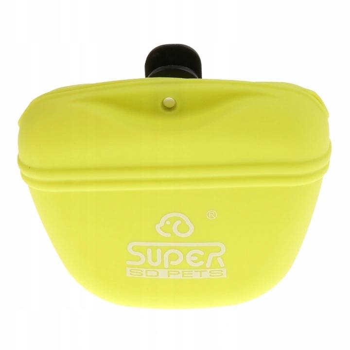 2x силиконовая сумка для лакомств для собак