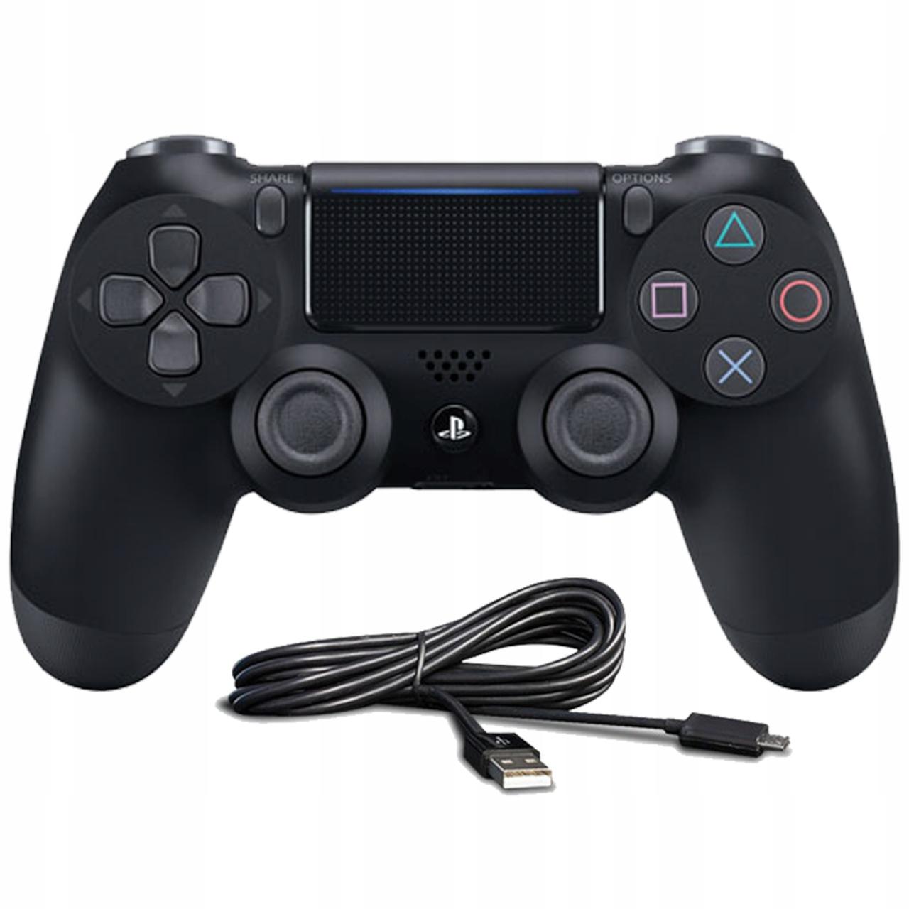 DualShock 4 V2 Pad PS4 SLIM PRO ORYGINAŁ + KABEL