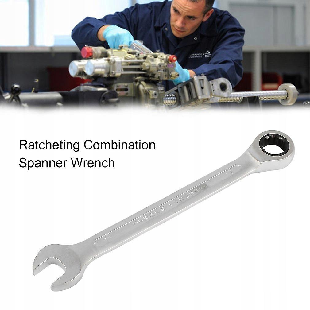 Профессиональный комбинированный ключ с трещоткой