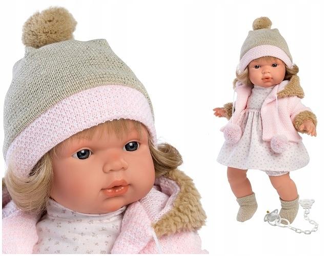 Bábika, ktorá po vytiahnutí cumlíka pre dievčatko plače