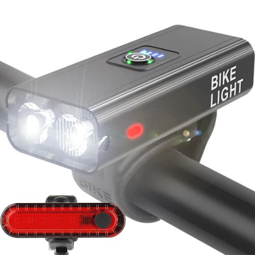 Велосипедный свет светодиодный передний передний задний PowerBank