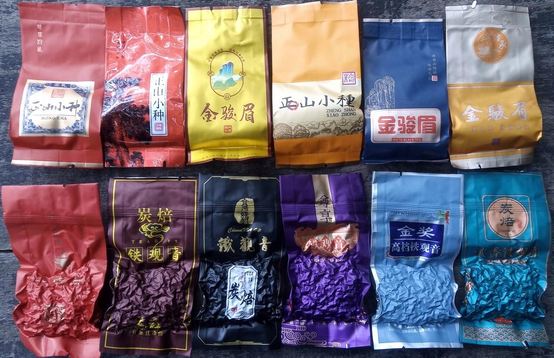 TEA Planet - набор из 12 китайских чаев по 5-12 г.