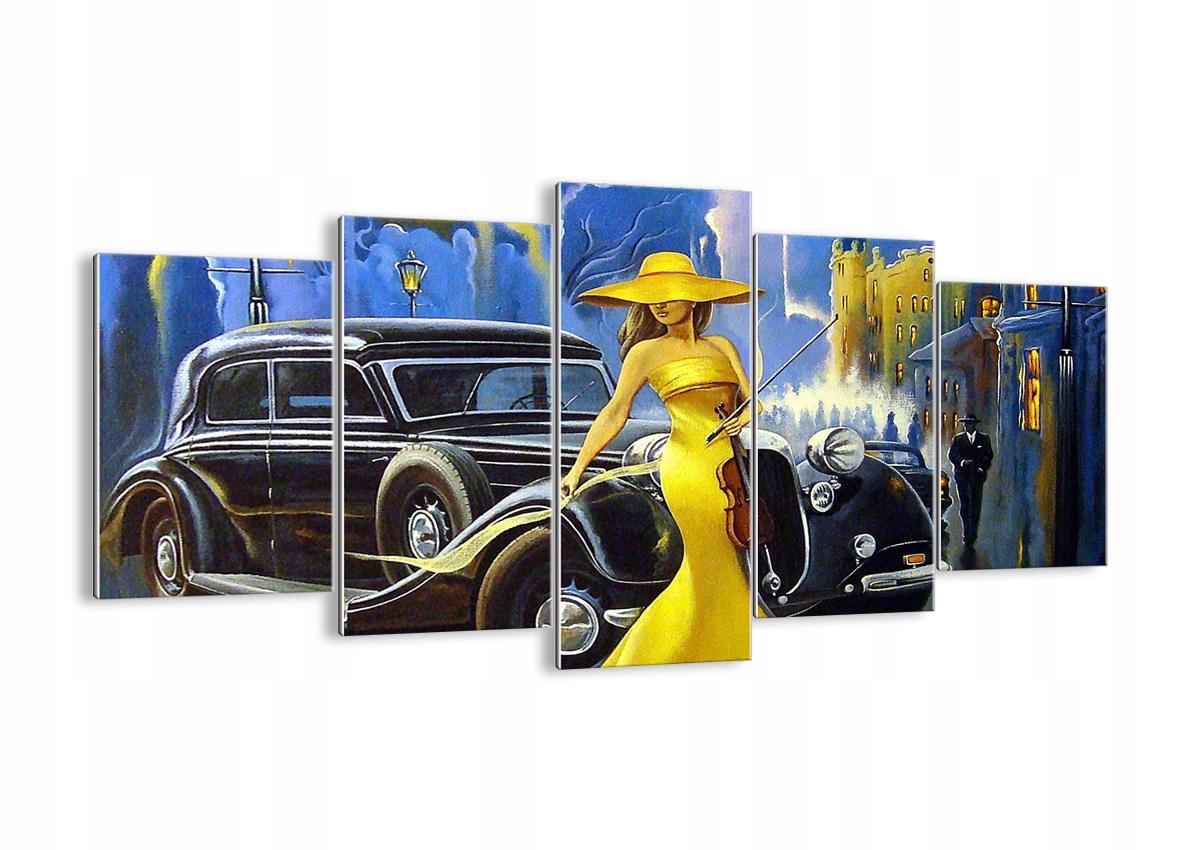 Obrázok na sklo žena retro štýl GEA160x85-3449