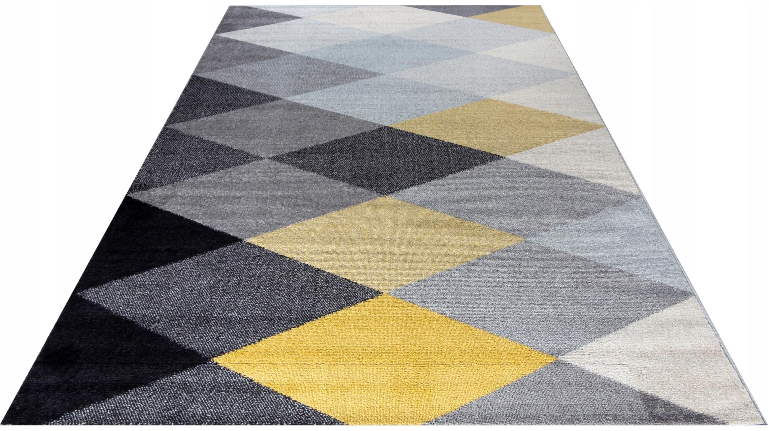 Kolorowy Dywan 140x200 nowoczesny modny MAROKAŃSKI