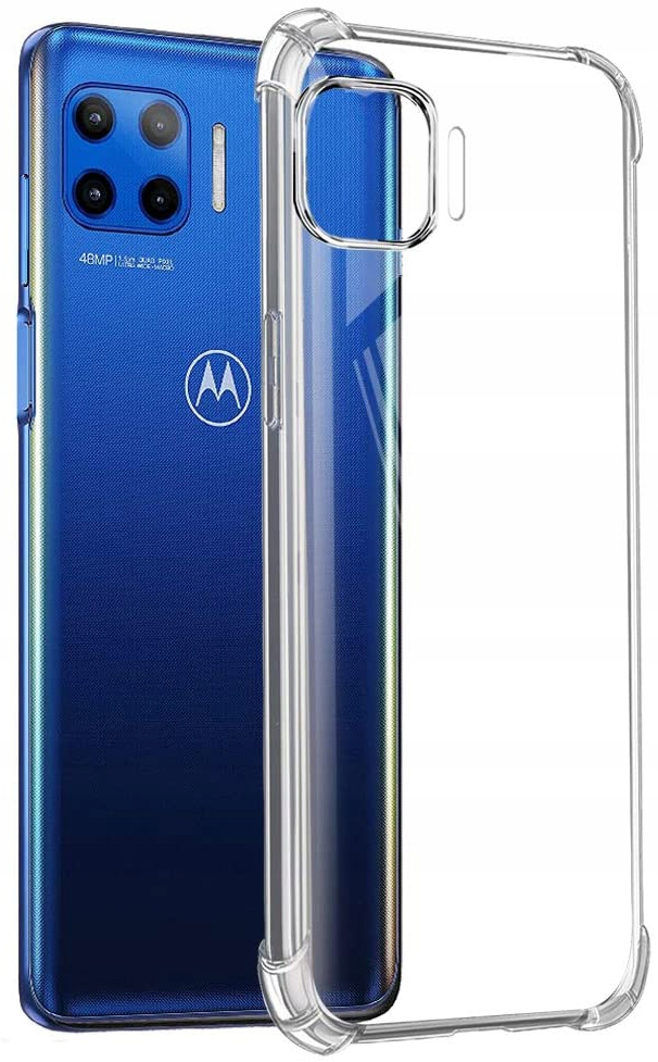 Etui do Motorola Moto G 5G Plus ANTI-SHOCK + Szkło Waga (z opakowaniem) 0.1 kg