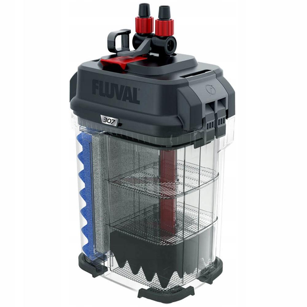 FLUVAL 307 внешний фильтр 1150L / h 15W ++бесплатно! Ширина 18 см