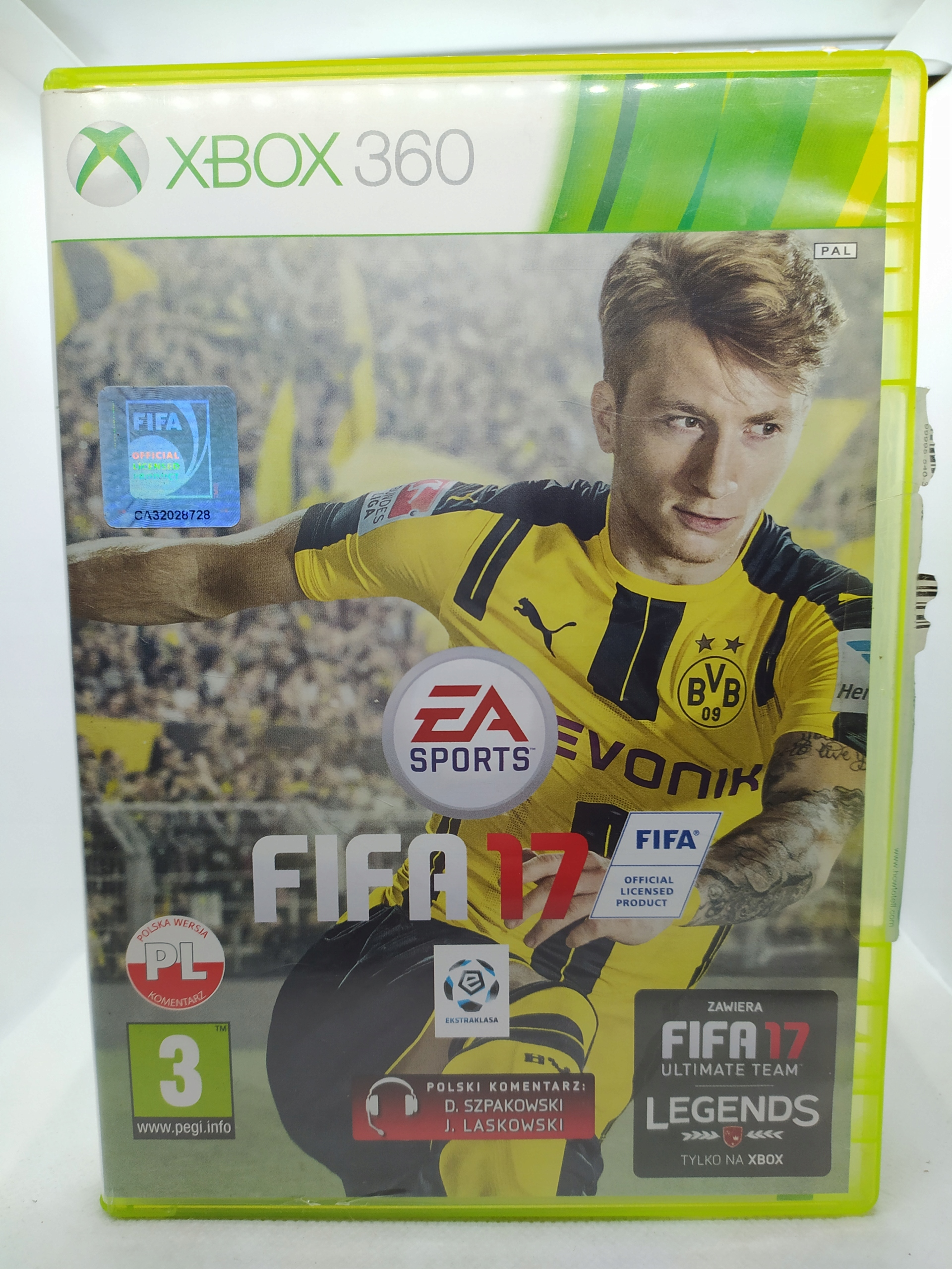Fifa 17 Xbox 360 Pl Stan Uzywany 9281593836 Allegro Pl