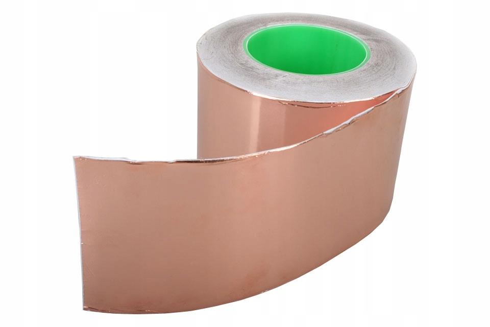 Samolepiaca medená páska, šírka 10cm (1M)