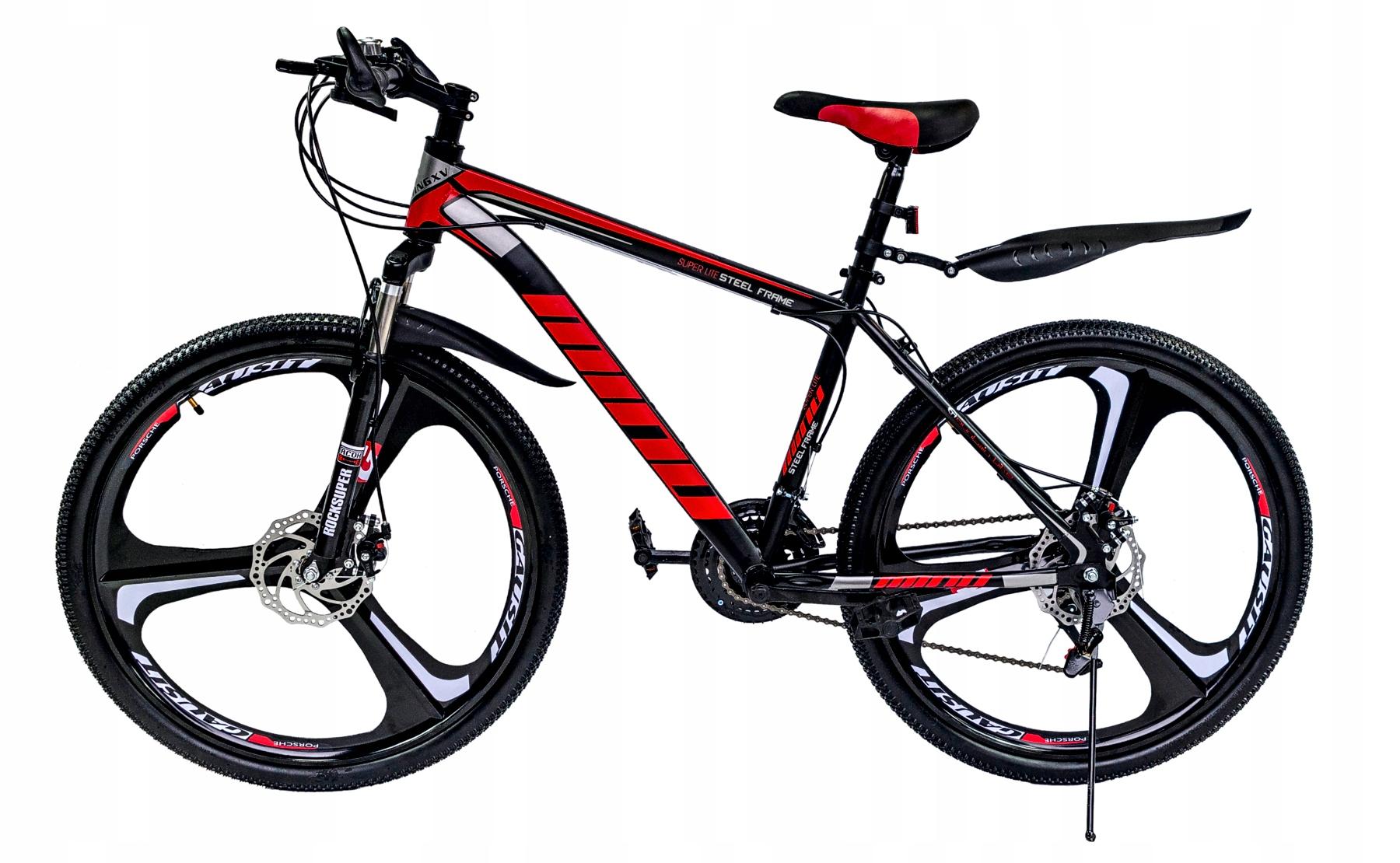 Rower Gorski Mtb Minu Czarno Czerwony 26 Quot 10082923583 Allegro Pl