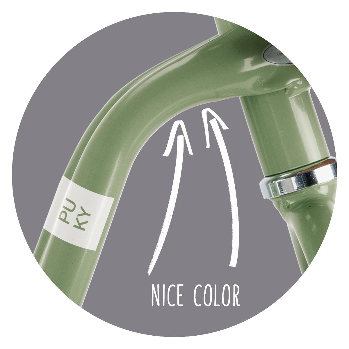 Rowerek biegowy PUKY LR XL Classic Green 4067 Kolor Czarny
