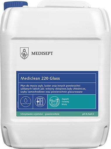 Жидкость для мытья стекол 5Л Mediclean MC 220