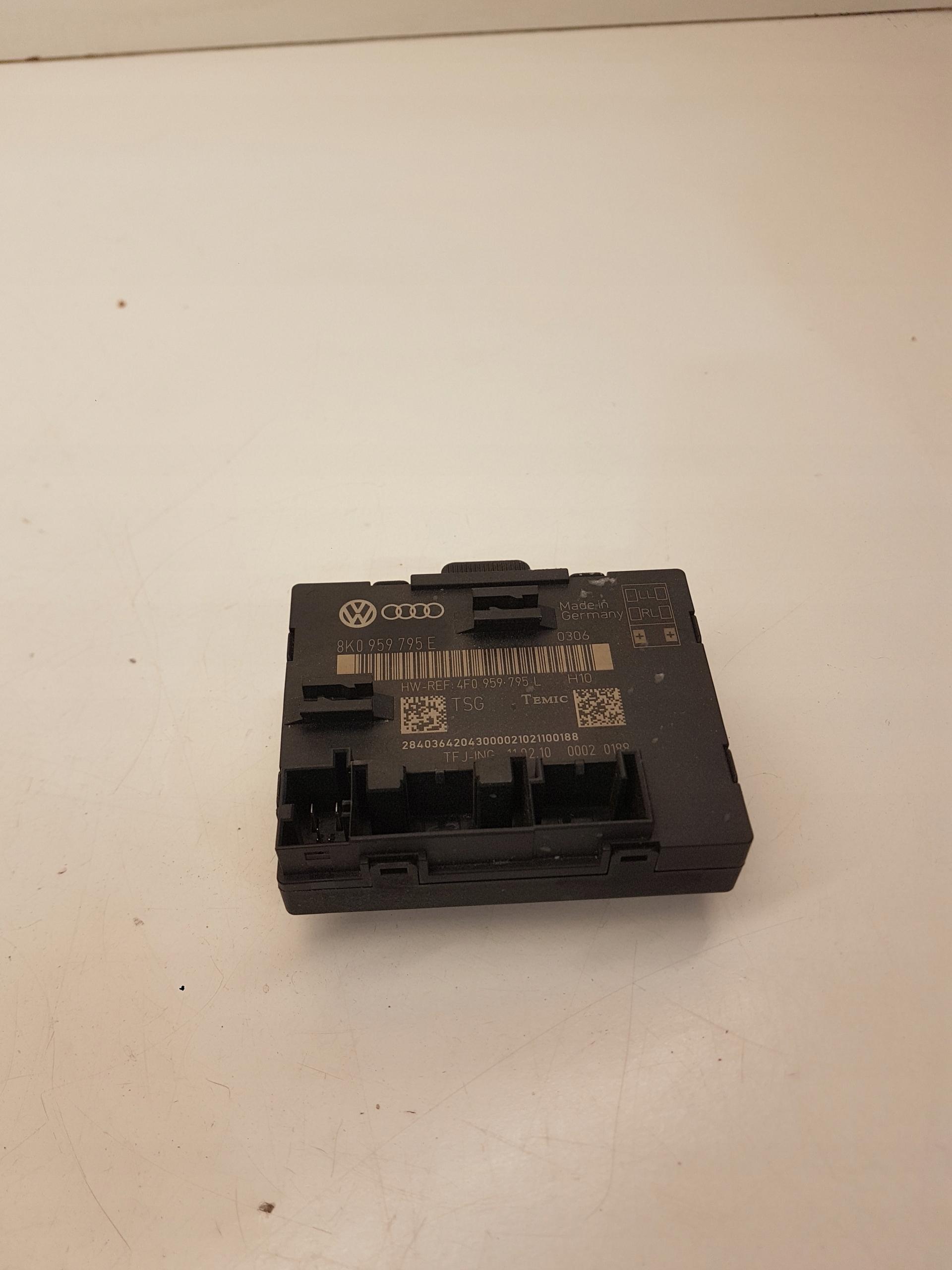 модуль драйвер двери audi a4 b8 a5 q5 8k0959795e