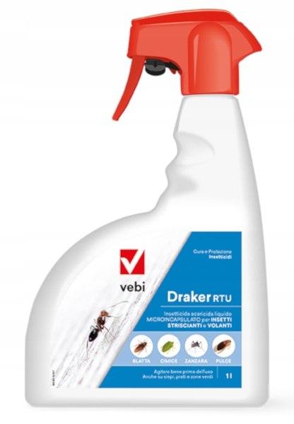 Draker RTU 1L для мух, клещей, муравьев, распыления