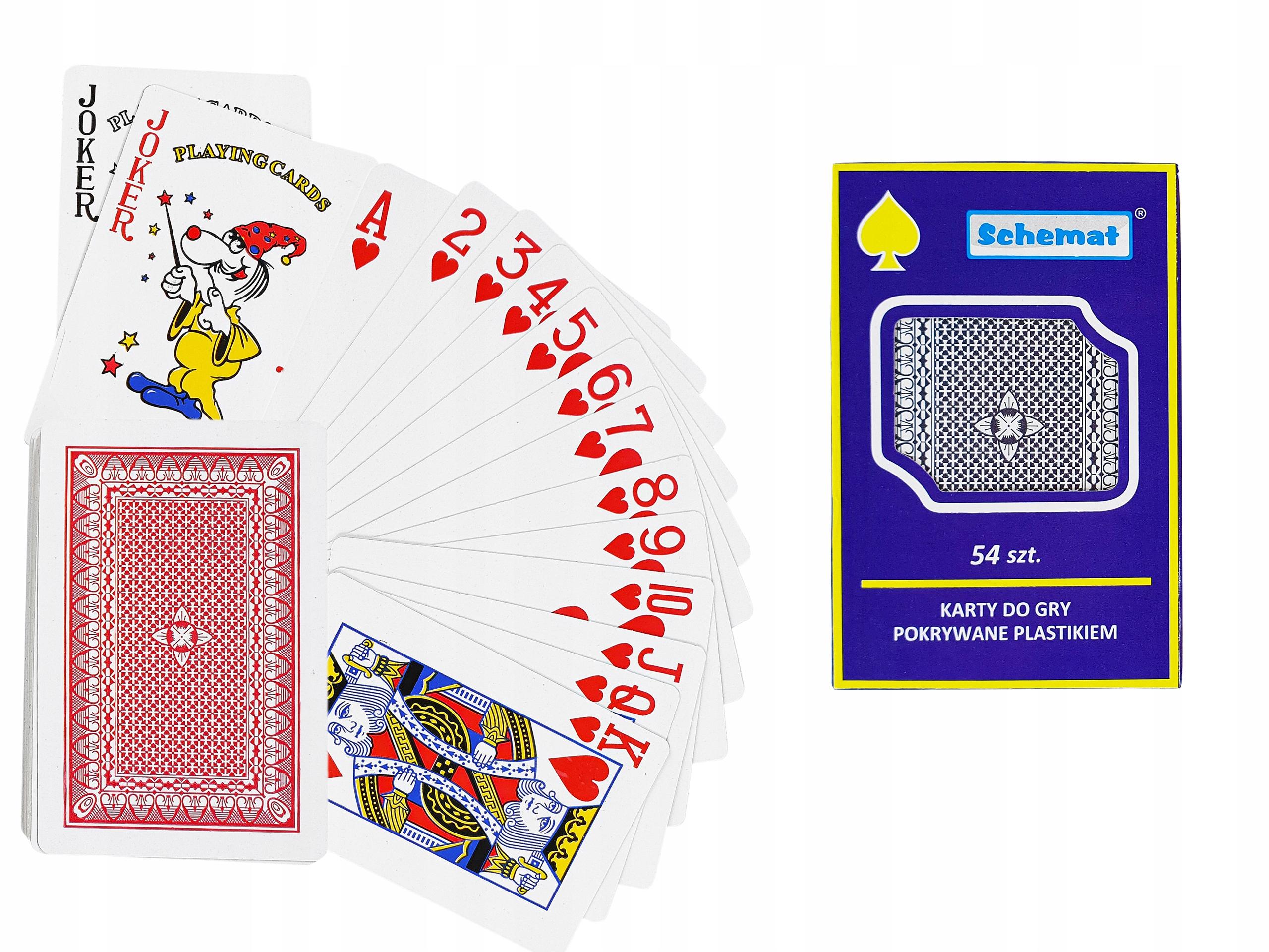 Купить Игральные карты Poker Bridge 54 штуки Карточная игра на Otpravka - цены и фото - доставка из Польши и стран Европы в Украину.