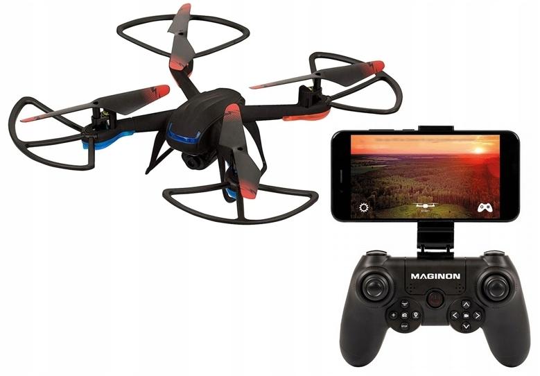 DRON 31cm helikopter FULL HD autoląd 2,4GHZ WIFI !