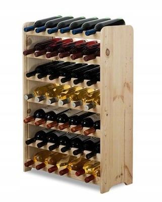 Стенд вино RW-3 -42 стеллаж 42 бутылки полка
