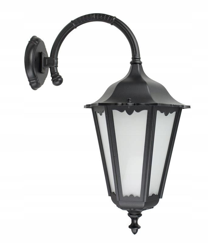 Klasické nástenné svietidlo rezbárstvo Retro Maxi dole terasa