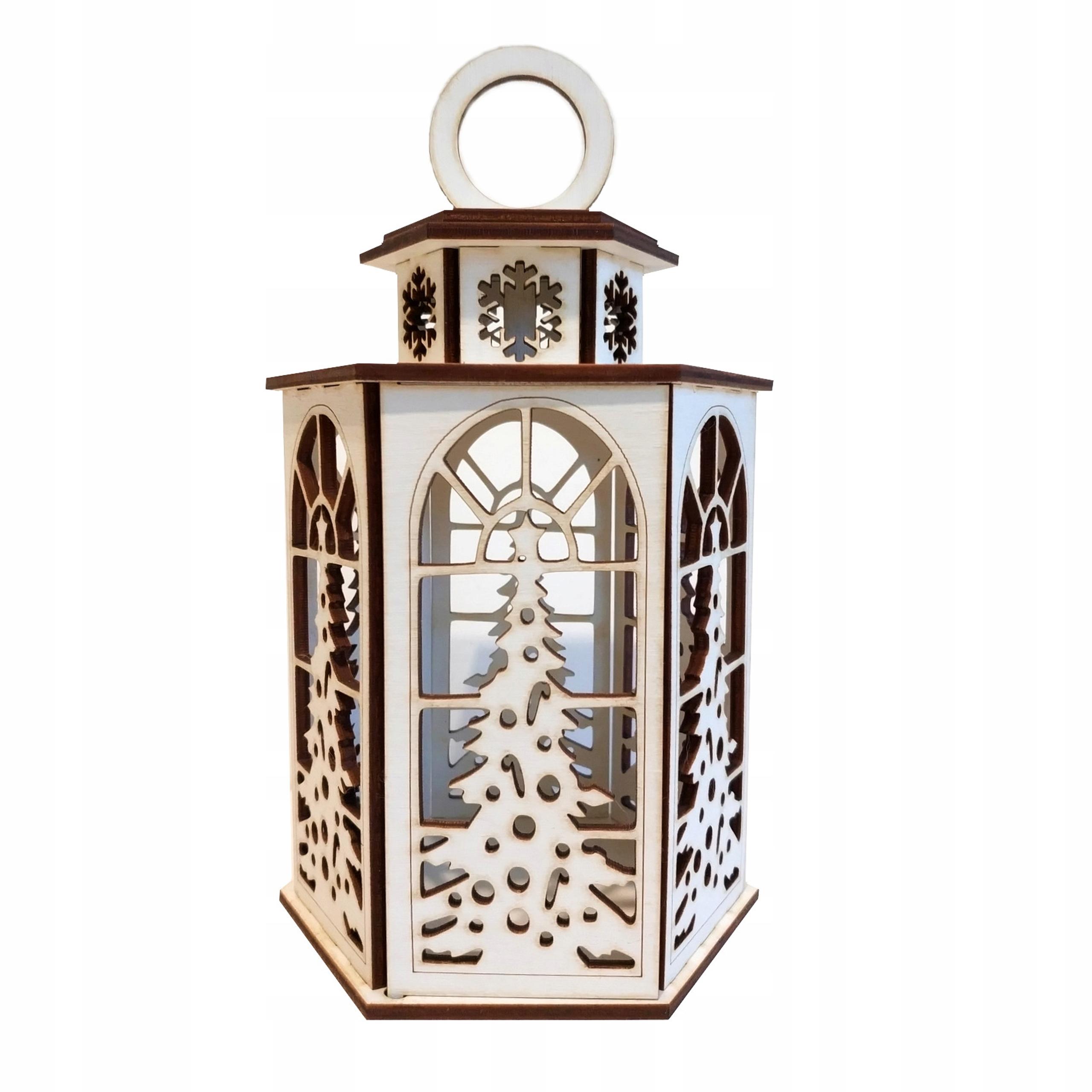 latarnia lampion świecznik Boże Narodzenie Adwent