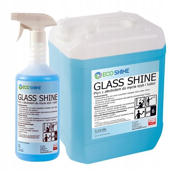 ECO SHINE GLASS SHINE Жидкость для окон и зеркал 5л