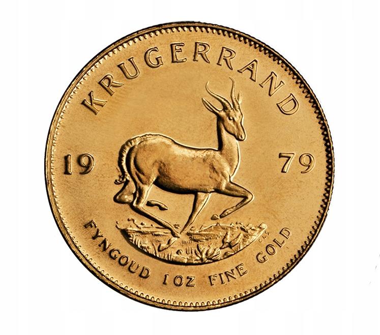 Krugerrand 1 oz zlatá minca - zlaté mince
