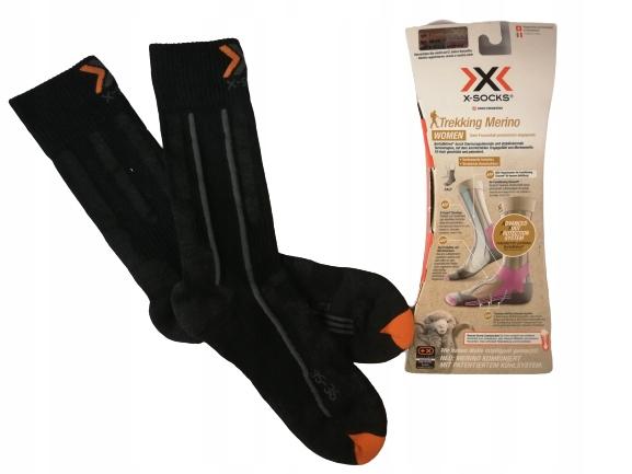 X-ponožky Trekking Marino Ponožky Veľkosť 35/36