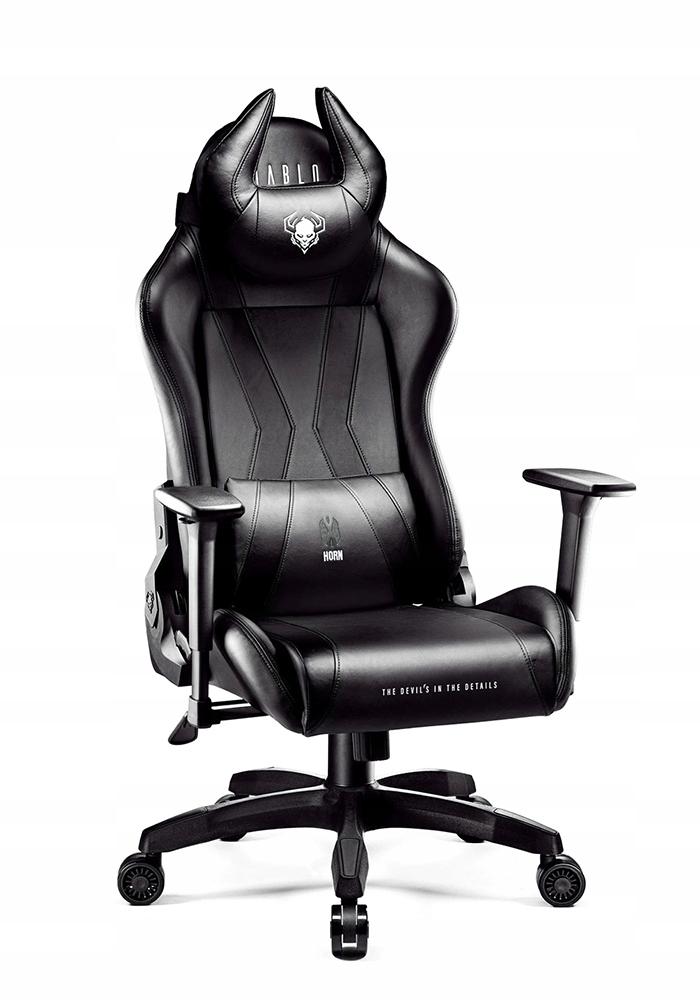 DIABLO X-HORN L GAMING вращающееся кресло GAMER Цвет обивки черный