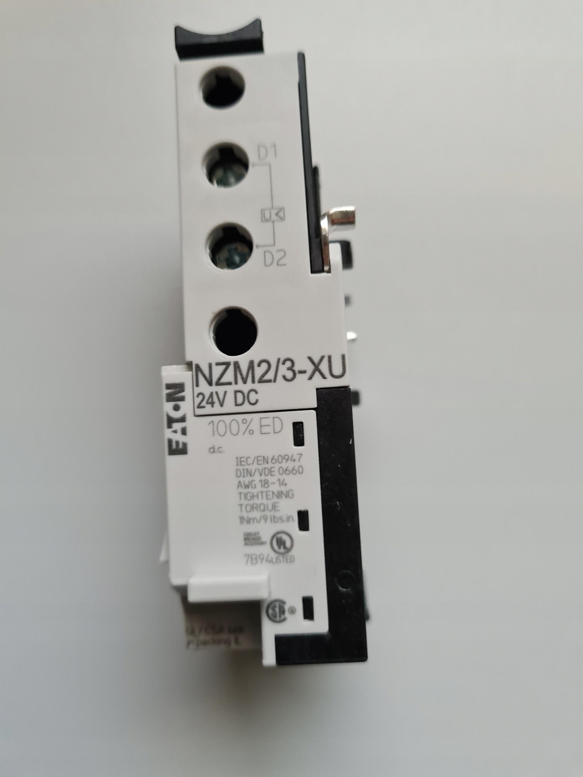 Расцепитель минимального напряжения 24 В постоянного тока Eaton NZM2 / 3-XU24DC