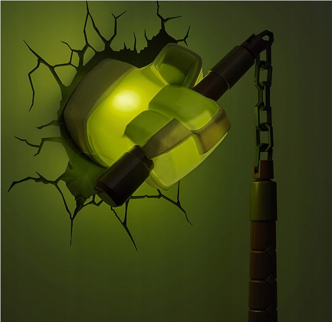 LAMPKA DEKORACYJNA 3D MICHELANGELO ŻÓŁWIE NINJA Marka NICKELODEON