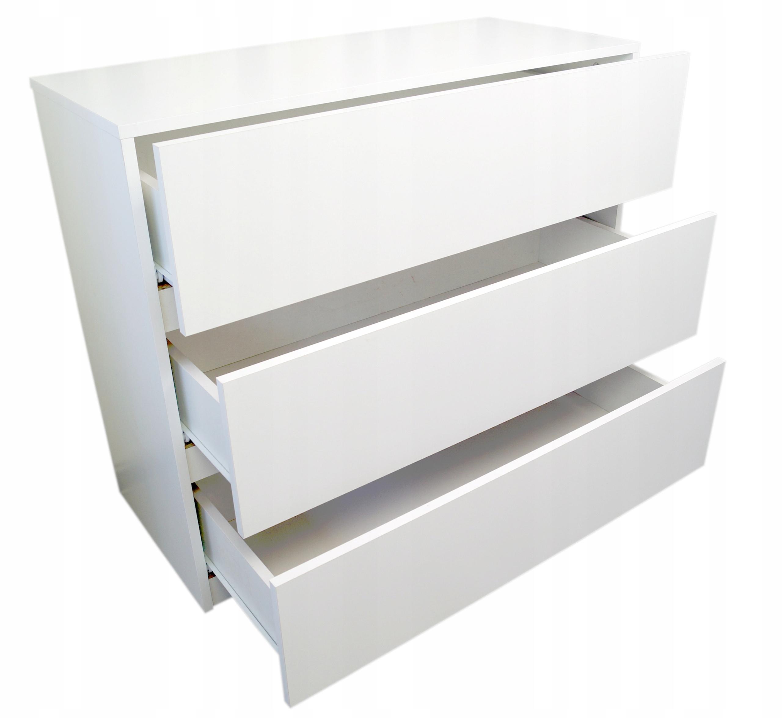 Komoda biała z szufladami NEO 90cm New Line Komody EAN 2010000000274