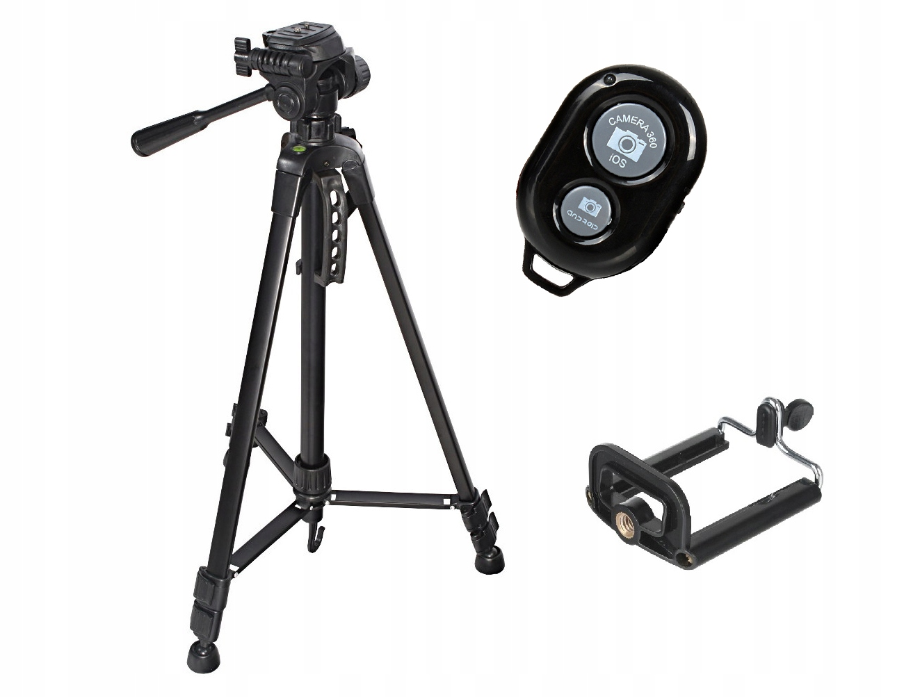 Item 3 in 1 HIGH ST540 TRIPOD +remote control + HOLDER FOR PHONE