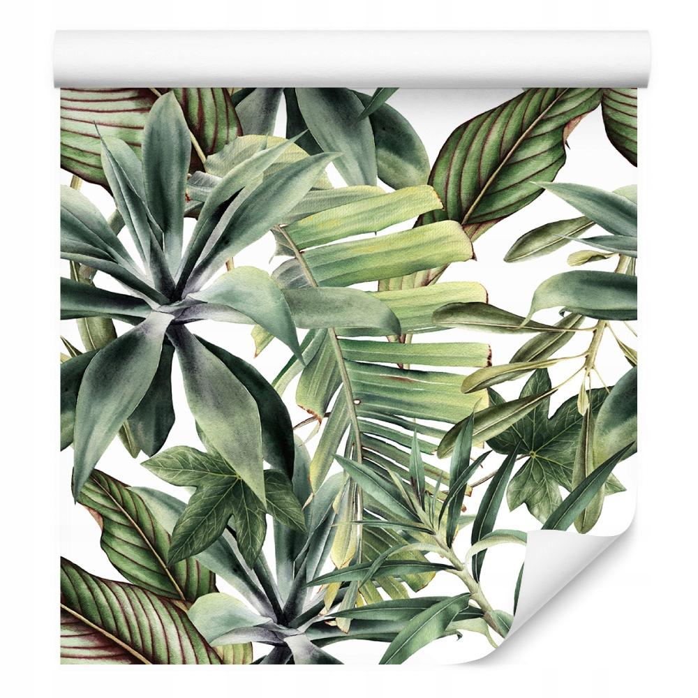 Tapeta tropikalna liście bananowca natura kuchnia