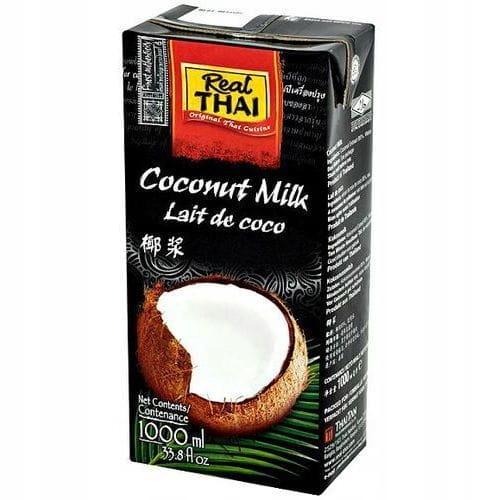 Item Milk Coconut Milk 12x1000 ml Real Thai 1L