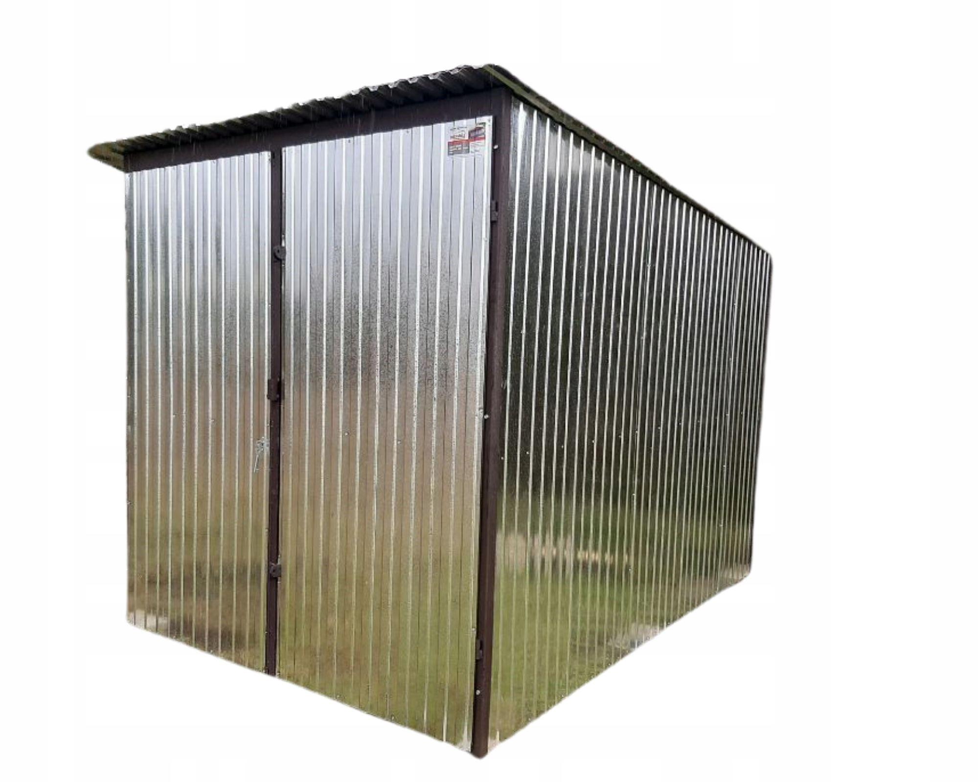 Строительные гаражи из оцинкованной стали Blaszak 2x3