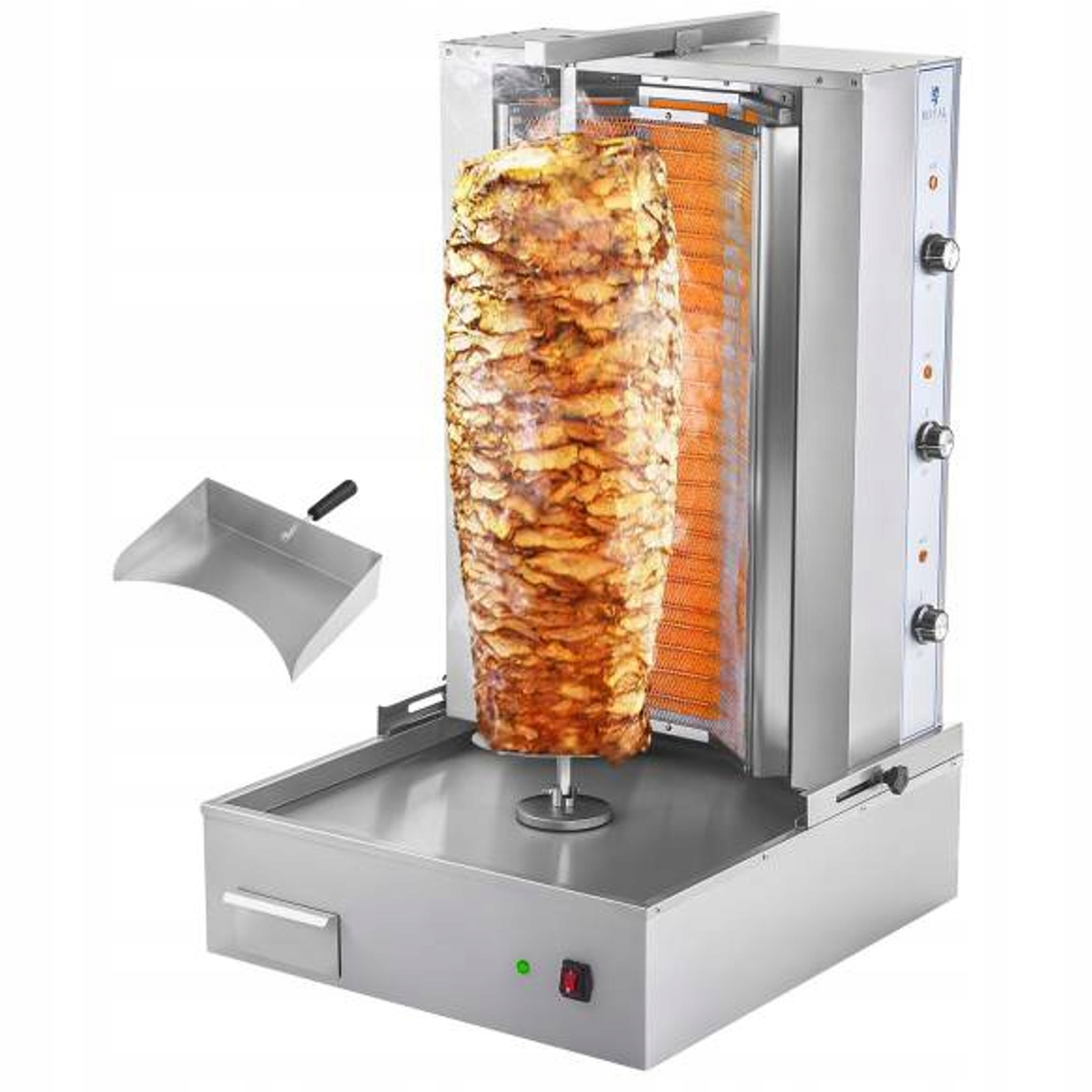 Opiekacz piec do kebaba gyrosa elektryczny 400V 6k