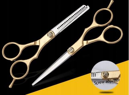nożyczki  złote