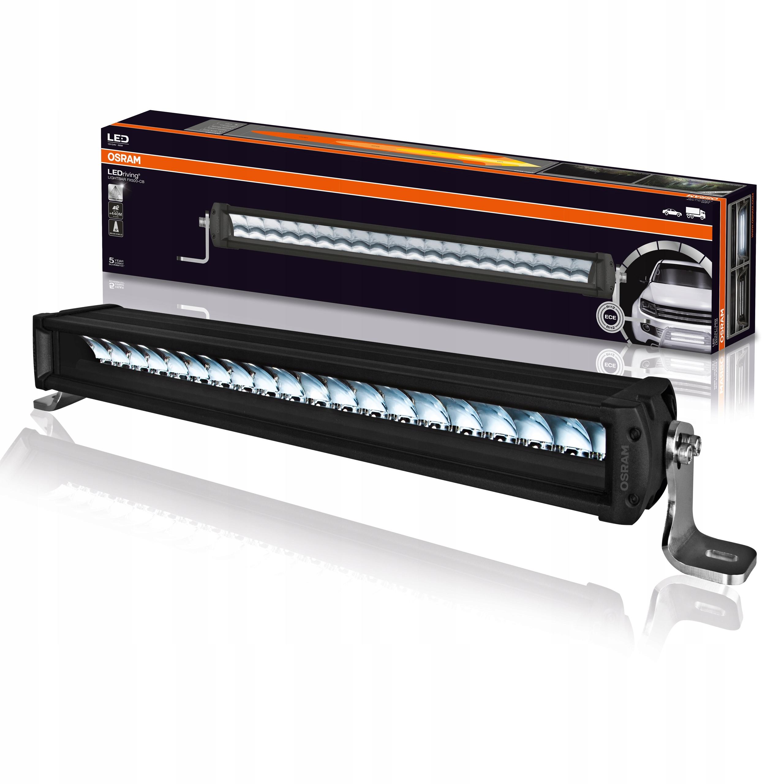 osram галоген лампа led lightbar fx500-cb 6000k