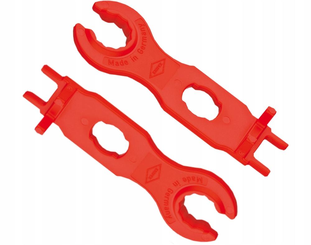Kľúče pre konektory MC4 solárnych konektorov KNIPEX