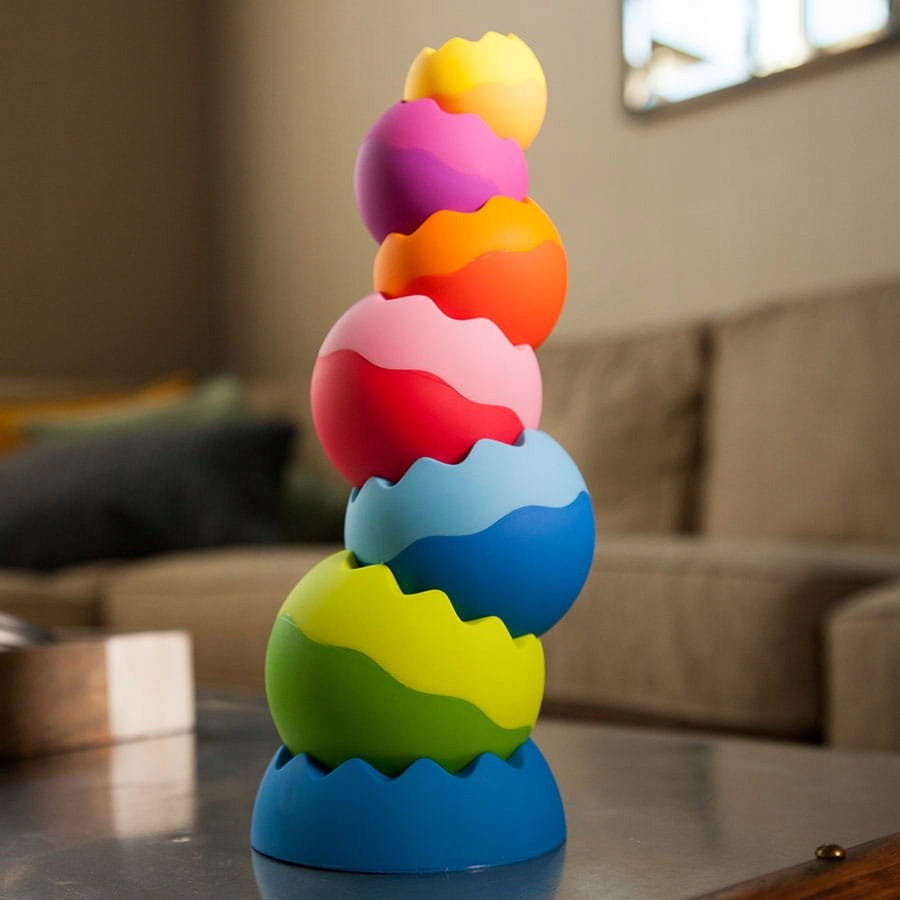 Kule Tobbles Neo wieża dla malucha kulki zębate EAN 182129000779