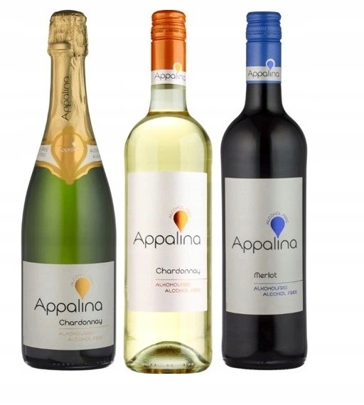 German Appalina Wines 0% микс набор из 3 вин