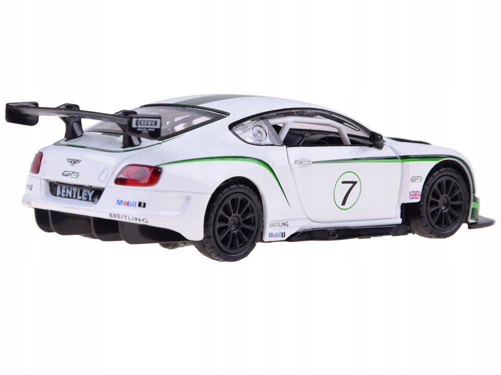 Sportowe auto Bentley 1:32 światło dźwięk ZA3142 Bohater inny