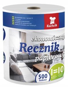 Ręcznik papierowy czyściwo celuloza 500 listków