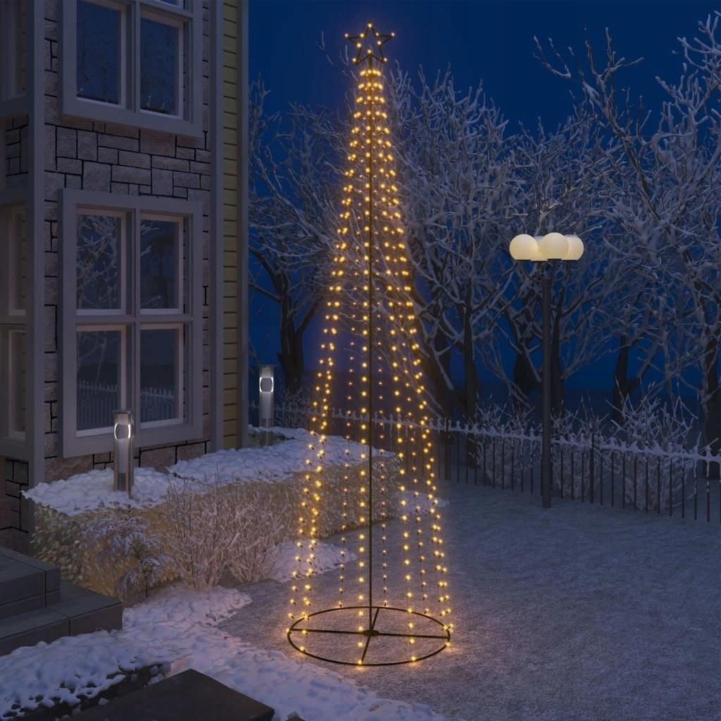 j8k ozdoba na vianočný stromček so 400 LED diódami