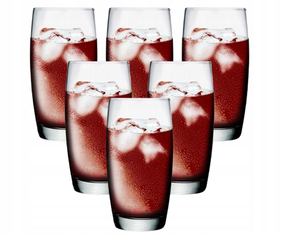 ZESTAW SZKLANEK DO DRINKÓW NAPOJÓW 6 SZT SZKLANKI