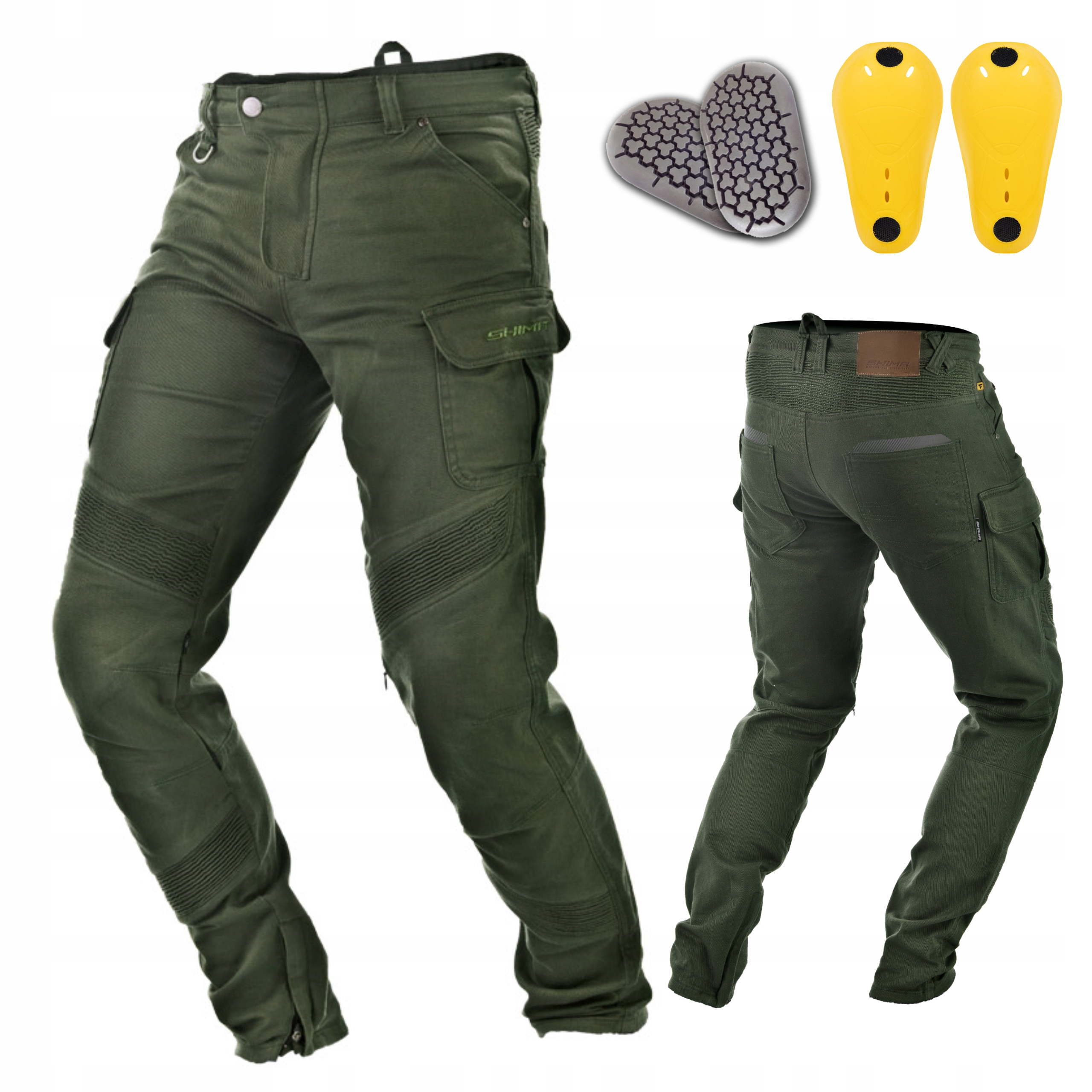 Мотоциклетные брюки карго SHIMA GIRO + FREE