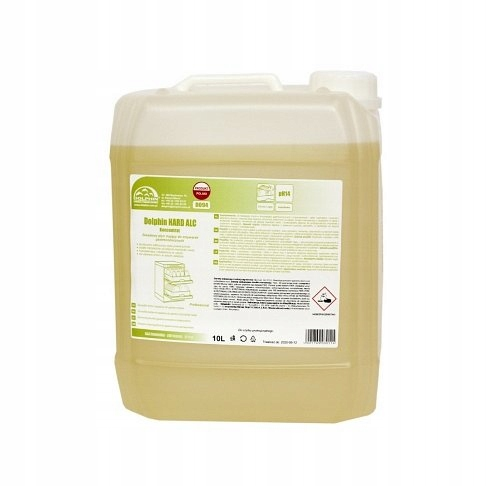 DOLPHIN HARD ALC стиральная жидкость в посудомоечных машинах 10L