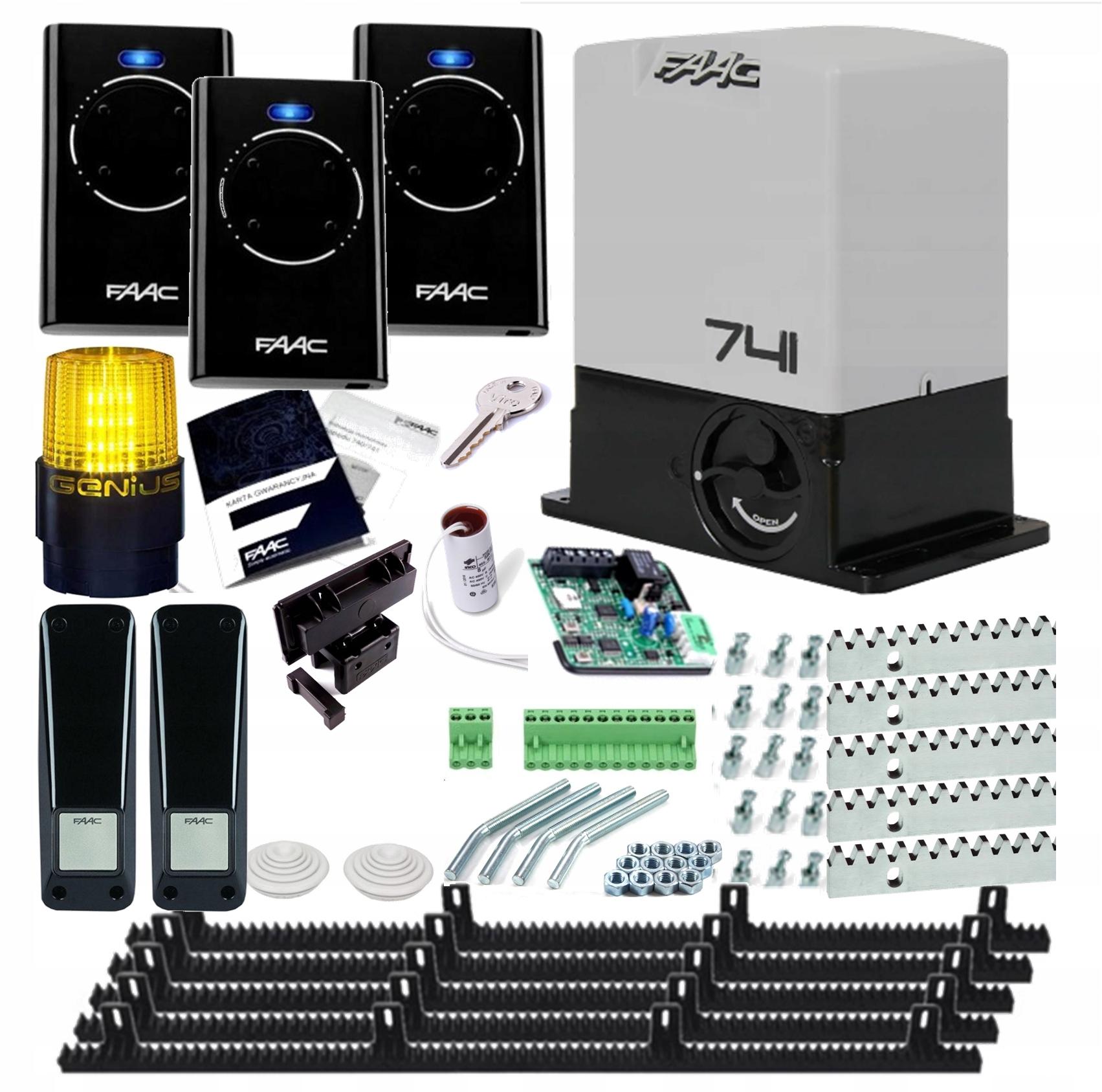 Комплект привода актуатора FAAC 741 DELTA 3 фото LED